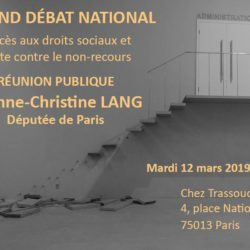 Grand débat national dans le 13e